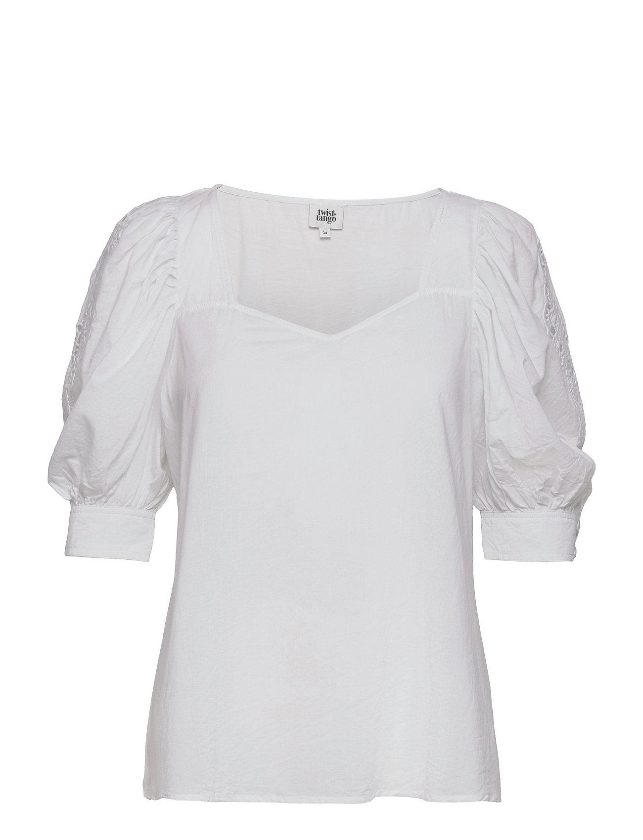 Vilina Blouse Blouses Short-sleeved Hvid Twist & Tango