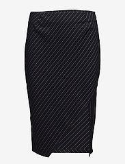 Twist & Tango - Whitney Skirt - midi - navy pin stripe - 0