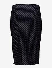 Twist & Tango - Whitney Skirt - midi - navy pin stripe - 1