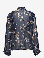 Twist & Tango - Diana Blouse - long sleeved blouses - blue - 1