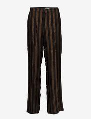 Twist & Tango - Erika Trousers - pantalons larges - brown - 0