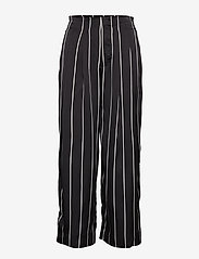 Twist & Tango - Brenda Trousers - wide leg trousers - black stripe - 1