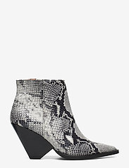 Twist & Tango - Dallas Boots - ankelstøvler med hæl - grey snake - 1