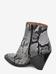 Twist & Tango - Dallas Boots - ankelstøvler med hæl - grey snake - 2
