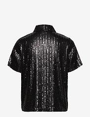 Twist & Tango - Britta Sequin Dress - blouses à manches courtes - black - 1