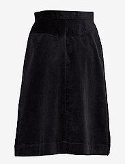 Twist & Tango - Pia Cord Skirt - midi rokken - black - 1
