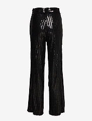 Twist & Tango - Judi Sequin Trousers - uitlopende broeken - black - 1
