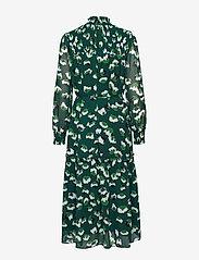 Twist & Tango - Aline Long Dress - midiklänningar - green flower - 1