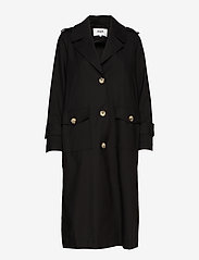 Twist & Tango - Eve Trenchcoat - trenchcoats - black - 3
