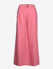 Twist & Tango - Maria Trousers - bukser med brede ben - pink - 1