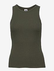 Twist & Tango - Ina Tank Top - linnen - greyish green - 0