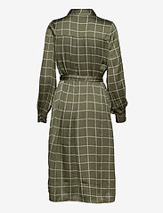 Twist & Tango - Lisa Long Shirt Dress - sommarklänningar - greyish green - 1