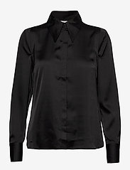 Twist & Tango - Peggy Shirt - långärmade skjortor - black - 0