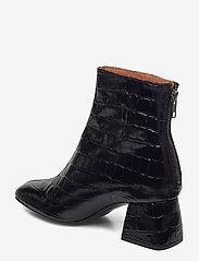 Twist & Tango - Madrid Boots - ankelboots med klack - black croco - 2