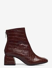 Twist & Tango - Madrid Boots - ankelboots med klack - brown croco - 1