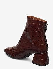 Twist & Tango - Madrid Boots - ankelboots med klack - brown croco - 2