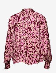 Twist & Tango - Lynda Blouse - långärmade blusar - safari pink print - 1