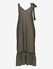 Twist & Tango - Krista Dress - sommarklänningar - dk khaki - 0