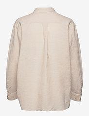 Twist & Tango - Sara Shirt - långärmade skjortor - neutral beige - 1