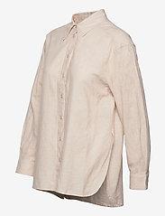 Twist & Tango - Sara Shirt - långärmade skjortor - neutral beige - 2