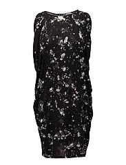 Harper Dress - GRAPHIC SPLASH PRINT
