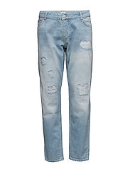 Lova Trousers - BLUE DENIM