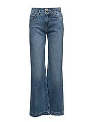 Jila Trousers - MID BLUE DENIM