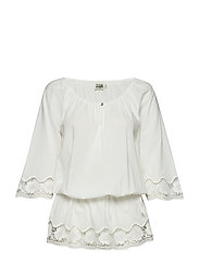Goldie Tunic - OFF WHITE