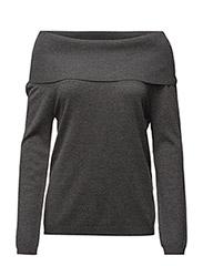 Mackenzieweater Grey melange - GREY MELANGE