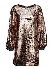 Darcy Dress - DRESS BRONZE