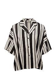 Mary Shirt - BLACK STRIPE