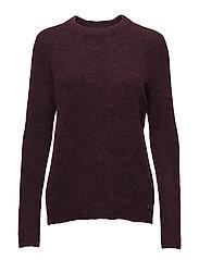 Estelle Sweater - WINE