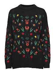 Freja Sweater - BLACK