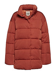 Jonna Padded Jacket - DARK RUST