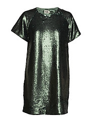 Kim Sequin Dress - GREEN