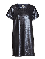 Kim Sequin Dress - NAVY