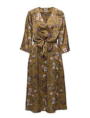 Maxine Dress - RUST