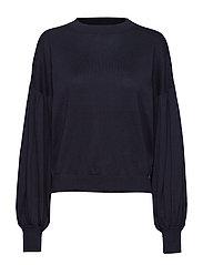 Beatrice Sweater Blackish Blue - BLACKISH BLUE