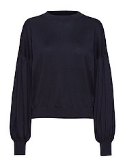 Beatrice Sweater Blackish Blue - BLACKISH BLUE