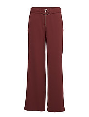 Sheila Trousers - DARK WINE