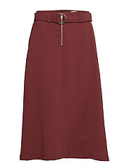 Sheila Skirt Dark - DARK WINE