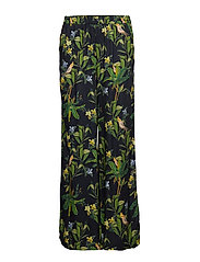 Philippa Trousers - NAVY BIRD