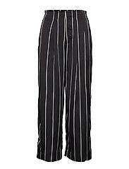 Brenda Trousers - BLACK STRIPE