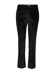 Lilly Cord Trousers - BLACK