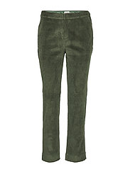 Lilly Cord Trousers - KHAKI