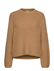 Abby Sweater - CAMEL