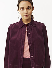 Twist & Tango - Angela Cord Jacket - vestes legères - deep purple - 0