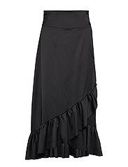 Tammy Long Skirt - BLACK