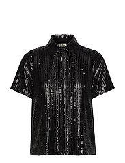 Britta Sequin Dress - BLACK