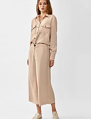 Twist & Tango - Louise Trousers - bukser med brede ben - blush - 0